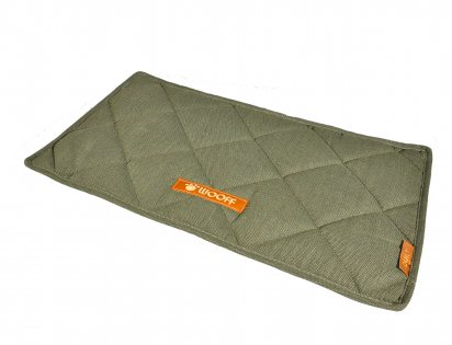 Tapis Wooff Quilt olive 55x30cm