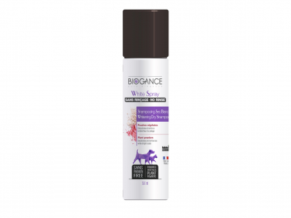 BIOGANCE dog white coat dry shampoo 300ml