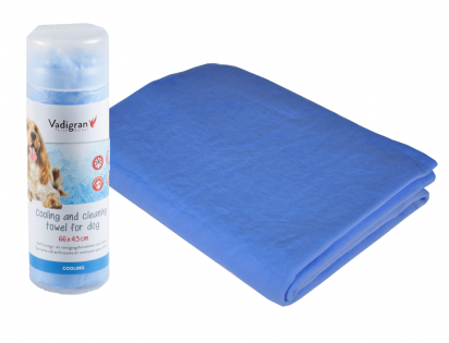 Cooling towel for dog