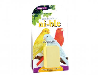 NI-BLE Mineraalsteen kanarie