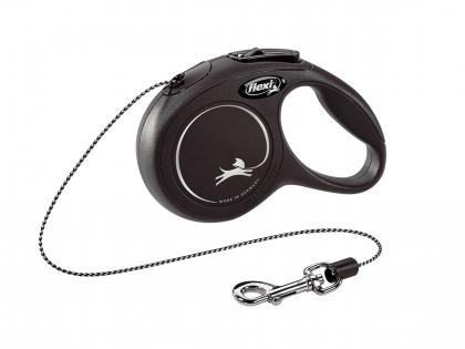 Flexi Classic Cat XS (cord 3m) black