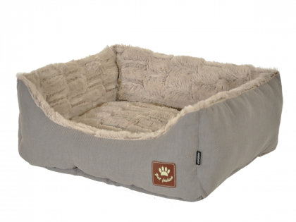 Basket Asma taupe/grey 45x40x19cm