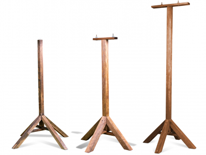 Emma Stand brown for bird table