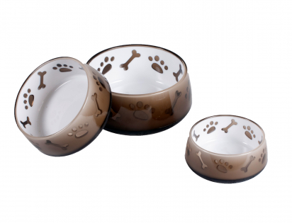 Feeding bowl melamine Paw and Bon