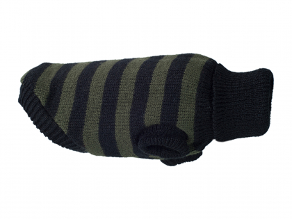 Ami Sweater Glasgow kaki strepen 28cm