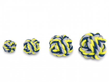 Ball blue-yellow