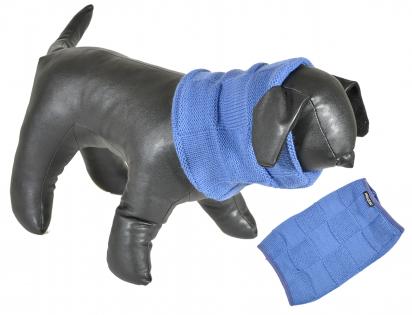 Sjaal blauw