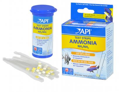 Ammonia test kit API