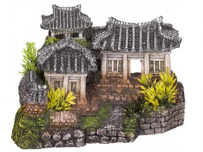 Aqua Deco Asian Temple