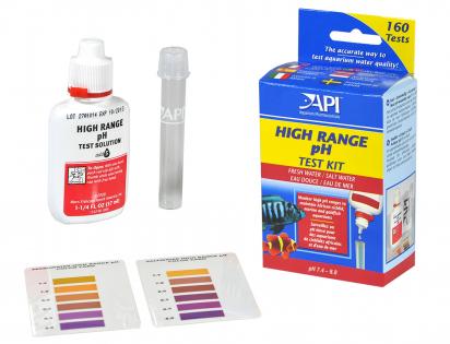 High range pH test kit API