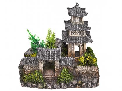Aqua Deco Aziatische tempel