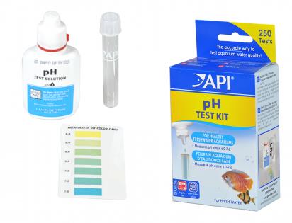 Mini pH test kit/pH Liquid test kit API