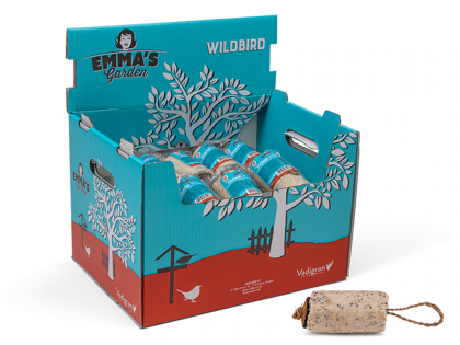 Emma Sausage Nuts & Insects 350g