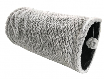 Cat tunnel plush crinkle