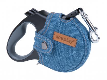 Ami sleeve for Leash Denim retractable blue M