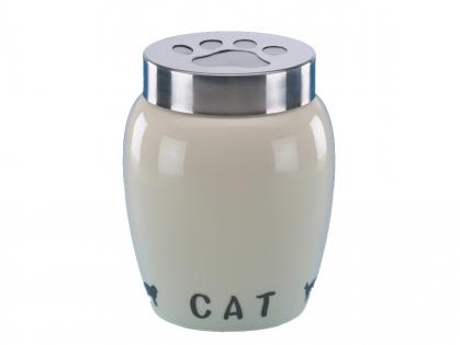 Earthenware snack jar