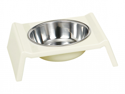 Feeding bowl melamine white