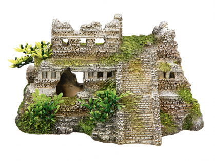 Aqua Deco Maya ruïnes