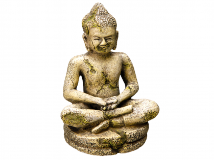 Aqua Deco Buddha
