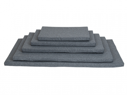 Bench cushion water repellent grey
