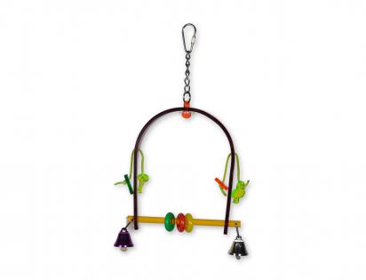 Speelgoed vogel plexi Swing