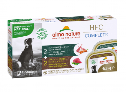 HFC Complete Multipack - Red meat 4x85g
