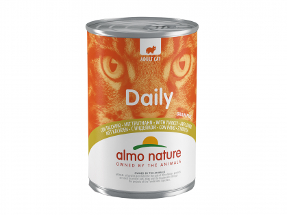 Daily Cats 400g avec dinde