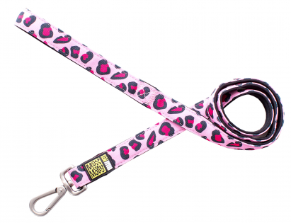 Leiband Leopard Pink