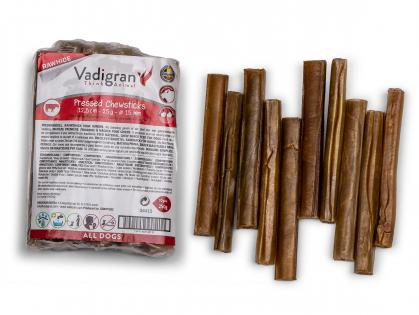 Pressed chewing sticks 25g/12,5cmxØ15mm