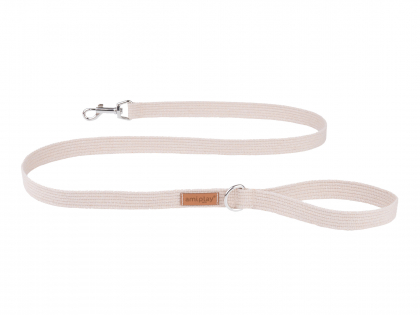 Ami Leash Cotton beige 140cmx30mm XL