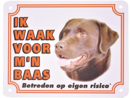Waakbord Labrador Retriever