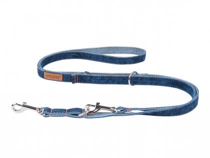 Ami Leash Denim 6 in 1 navy blue 100-200cmx25mm XL