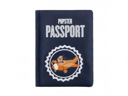 Speelgoed hond Globetrotter paspoort