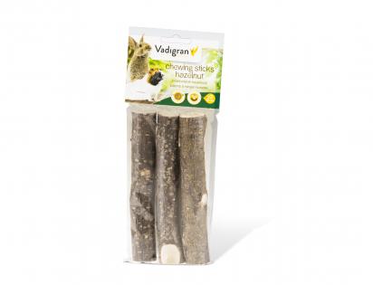 Chewing sticks hazelnut