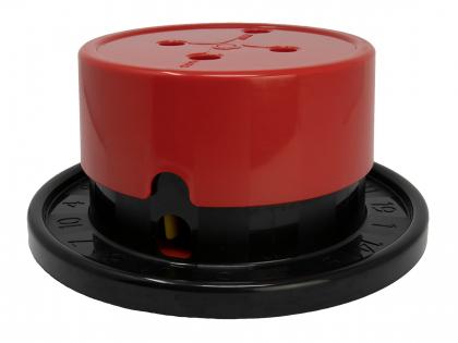 Treat Dispensing Roulette Wheel